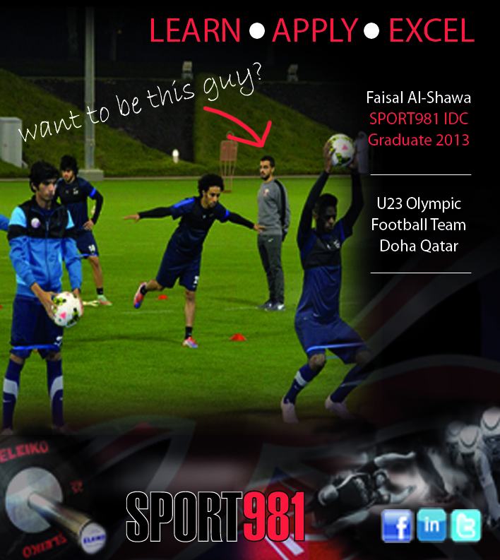 coaching promotional poster - Sport981